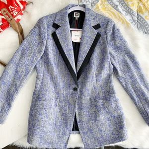 Anne Klein • Blue Fitted Blazer